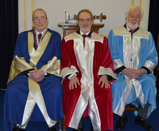 Merged chapters celebrate first installation
