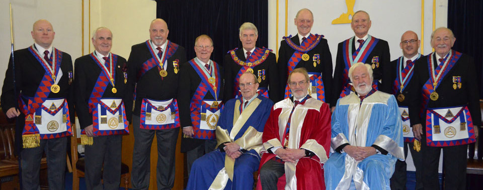 Pictured from left to right, are: Malcolm Bell, Patrick Walsh, John Goodrum, Colin Rowling, Paul Renton, Barry Jameson, Dave Walmsley, Ian Lynch and John Hindle. Seated left to right, are: Brian Redfearn, Alan Perks and Amos Millington.