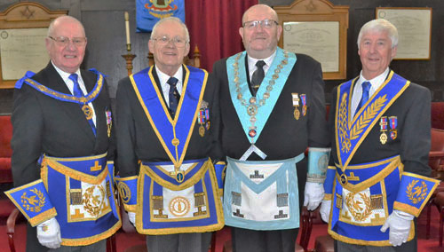 Pictured from left to right, are: David Grainger, John Heaton, Terry Nealons and Jim Wilson.