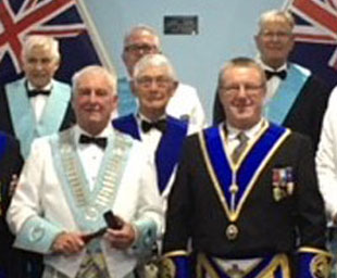 Peter's Masonic link with Australia