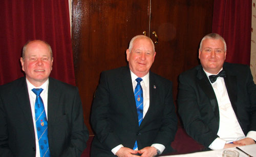 Pictured from left to right, are; Duncan Smith, Harry Cox and Mark Tomlinson.