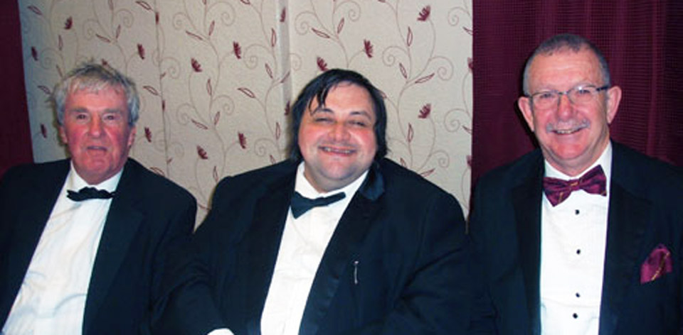 Pictured from left to right, are; Derek Broadbent, Damian Davenport and Steve Willingham.
