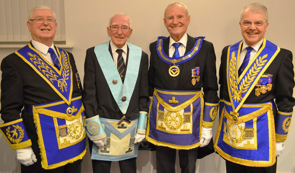 Pictured from left to right, are: Brian Hayes, Jim Jones, Dave Walmsley and David Durling.