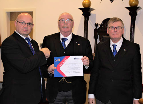 Pictured from left to right, are: Darren Gregory, Trevor Bedder and Denis Tierney.