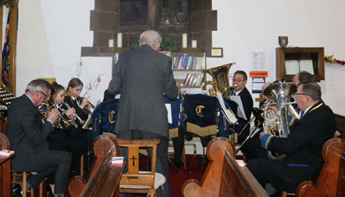 The Cadishead Public Band.