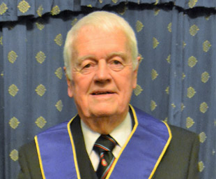Tom celebrates 60 years in Masonry