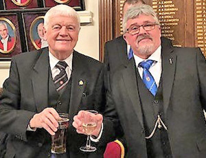 Tom Makin (left) and Rob Martin.