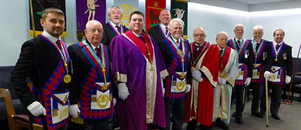 Pictured from left to right, are: David Thomas, Harry Cox, David Barr, Jim Finnegan, Juan Topping, David Randerson, Philip Houldsworth, Tom Houldsworth, Peter Elomore, Geoffrey Pritchard and John Turpin.