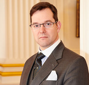 Dr David Staples, CEO of UGLE