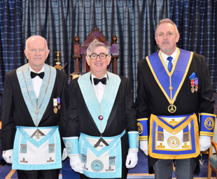 David installed as master of Amounderness