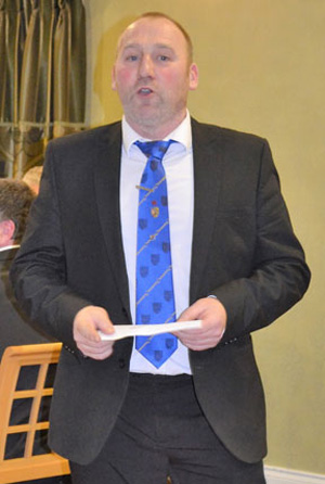 Fines master Andy McClements