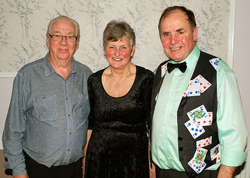 Pictured from left to right, are: Ray Barrow, Cath Traynor and Graham Chambers.