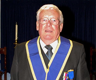 Len celebrates 50 years in Freemasonry