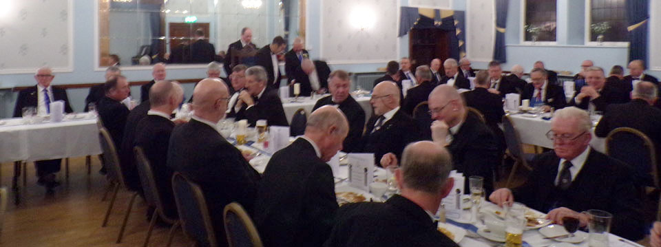 An excellent festive board.