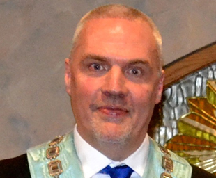 Paul Spann is master of Brookfield Lodge
