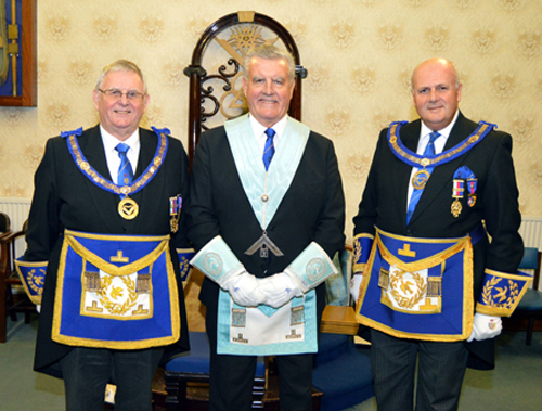 Pictured from left to right, are: Stewart Seddon, Bryan Hoarty and David Winder.