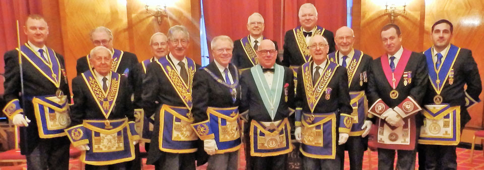 Pictured from left to right, front row are: Ian Halsall, Tony Foulds, Bill Culshaw, Derek Parkinson, Ian Elsby, Keith Dowell, John James, Paul Dooley and Daniel Senneck. Back row: Roy Pine, Sydney Ford, Derek Hughson and Paul Shepherd.