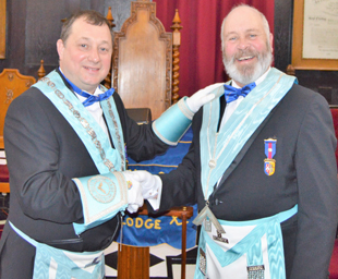 Nigel becomes master of Poulton le Sands