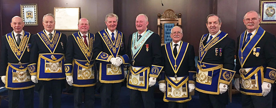 Pictured from left to right, are: John Stevenson, Peter Bentham, Duncan Smith, Stuart Thornber, Damon Tait, Mike Gaynor, John Turpin and Peter Rumley.