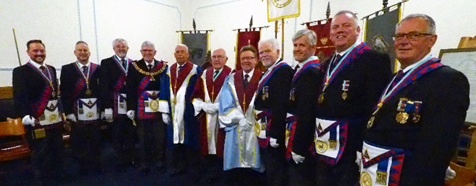 Pictured from left to right, are: Neil MacSymons, Brian Griffiths, Dave Barr, Tony Harrison, Mike Lumby, Ray Boardman, Philip Cunningham, David Randerson, Ian Ward, Juan Topping and Phil Bolton.