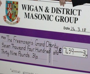 Wigan Group MCF fundraiser weekend