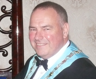 St George's Lodge of Chorley installs Paul Greenway