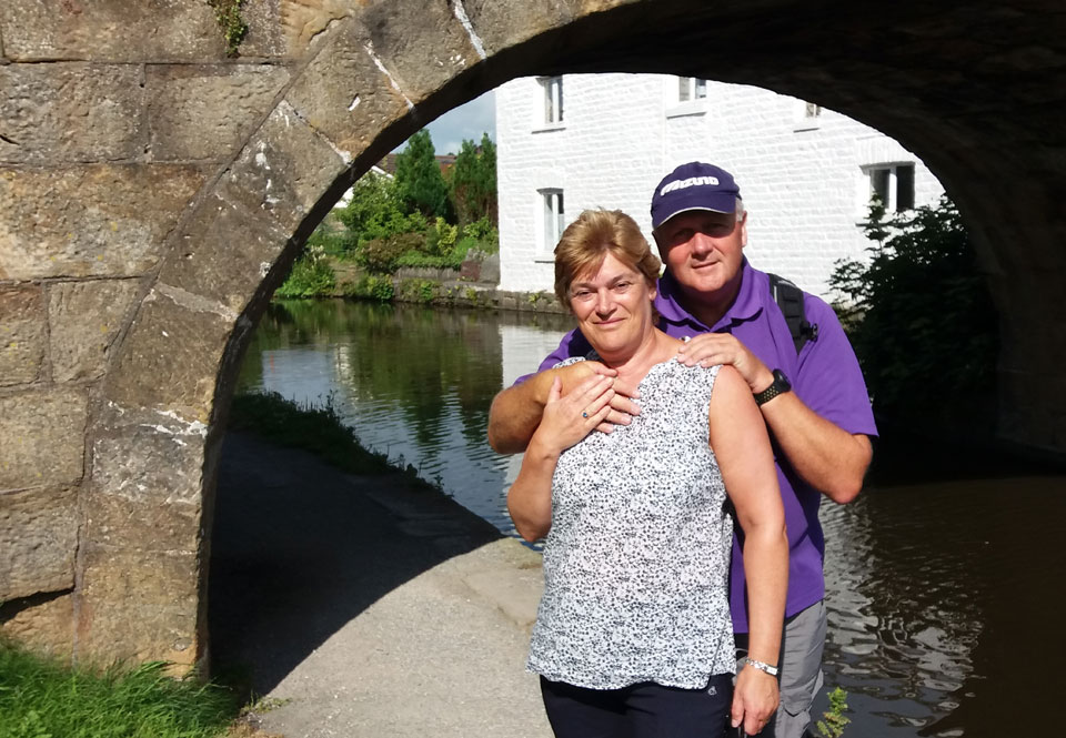 David and Susan look forward to sharing the walk with you, your friends, family and dogs!