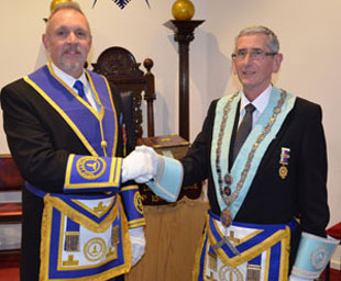 Steve installed as master for third time
