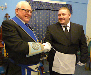A fine initiation at Toxteth Lodge