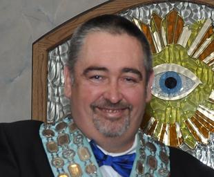 Coronation Lodge installs Gary Fisher
