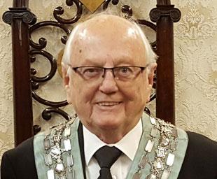 John Turner celebrates 50 years in Freemasonry