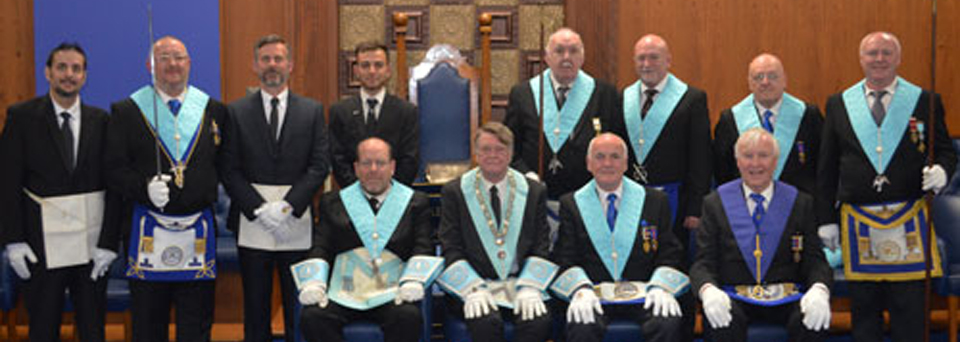 Pictured standing from left to right, are: Javid Iqbal, Craig Russell, Warren Goode, Pishrad Kailwan Mina, Len Heathcote, Paul Newton, Keith Charman and Trevor Dickenson. Seated from left to right, are: Keith Morris, Peter Staines, Patrick Walsh and John Hutton.