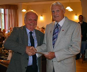 Kieron Mullan (left) and David Dryden.