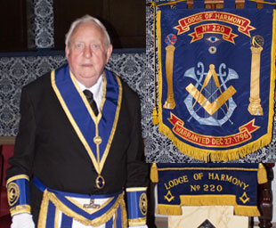 David's 50 years in Freemasonry