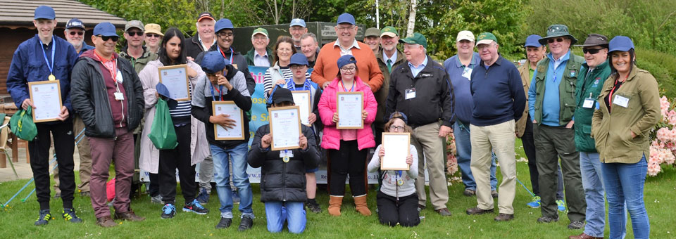 A group photograph to remind all of the fantastic day it had been at Whitmore Fisheries.