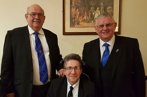 Pictured from left to right, are: Phil Gunning, Jason Astley and Stewart Seddon.