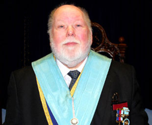 Iain installed as WM of King's Lodge