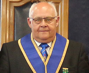 Barry celebrates 50 years as a Freemason