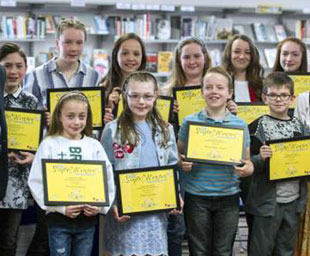 WLFC support creative writing winners