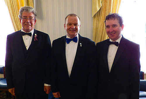 The working tools trio, pictured from left to right, are; Andrew Fraser, Derek Haigh and Mark Curtis.