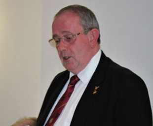 Tony welcomed to Foundation Chapter installation