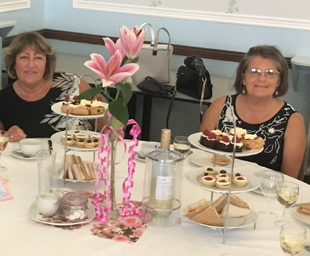 Afternoon tea at Southport