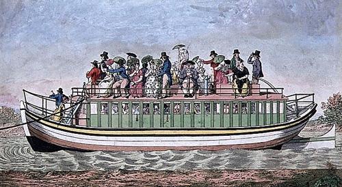 The Paddington Packet Boat.