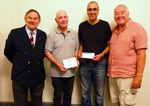 Pictured from left to right, are: Jack Blackburn, David Lowe, Abdul Benashour and Tony Hankinson.