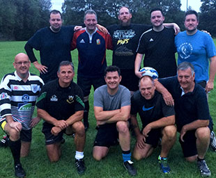 Small beginnings for the Provincial rugby team