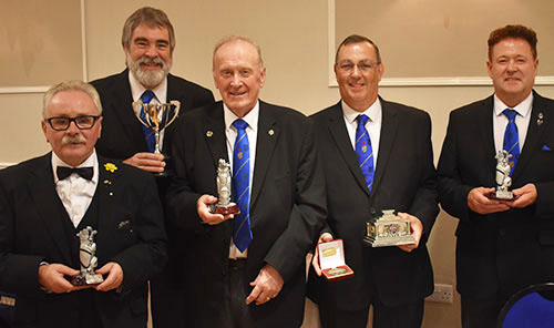 Pictured from left to right, are; Tony Cassells, Nigel Higginson, Brian Fallows, Allan Whittaker and Peter Schofield.