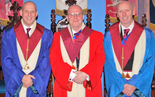 Pictured from left to right, are: Mike Fox, Alan Rutledge and Ian Mc Govern.