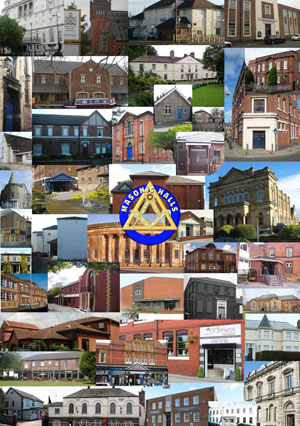 Masonic halls and meeting places around the Province.