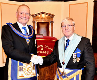 David made most welcome at original Woolton Lodge