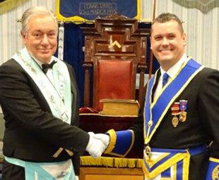Jim installed at South Shore Lodge